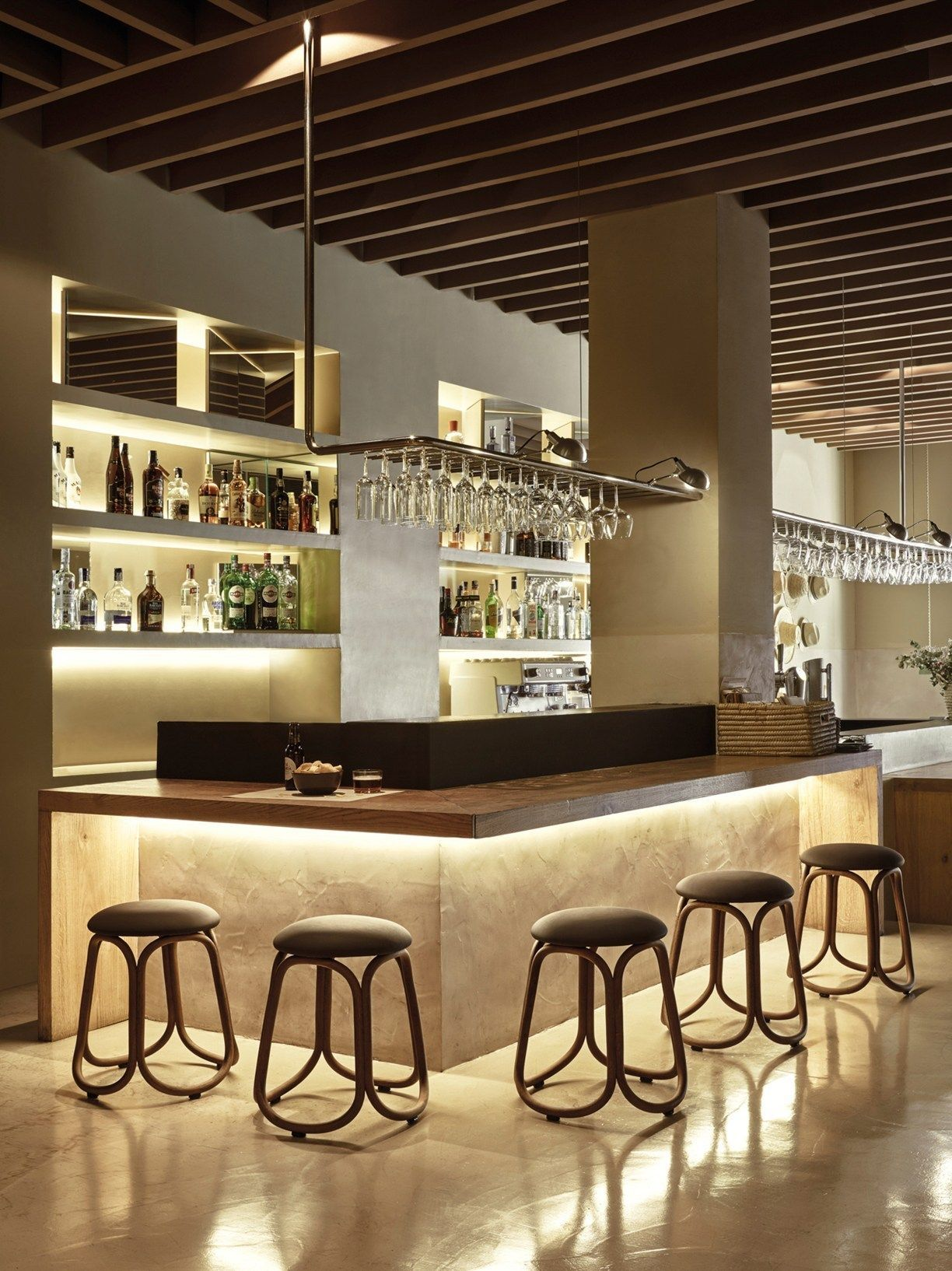 Gres The Reedition Of A Classic Modern Home Bar Home Bar