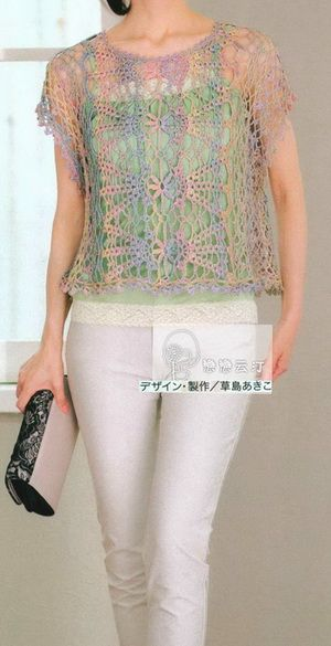 Crochet Sweaters: Crochet Vest pattern - Beautiful Lace
