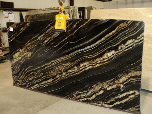 Granite Black Fusion From Brazil Granite Slab Stone