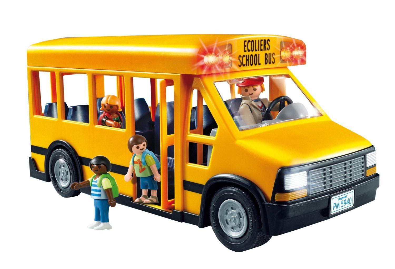 Amazoncom Playmobil School Bus Toys Games Quotes