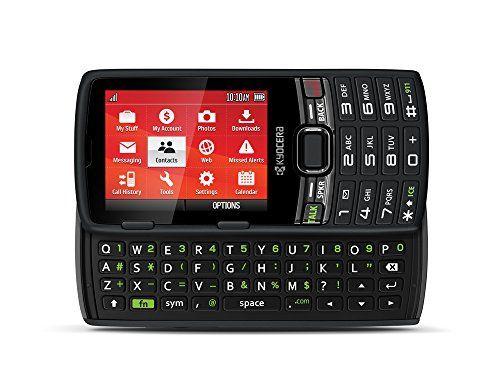 Virgin Mobile Paylo Phones Kyocera Contact Black Virgin Mobile
