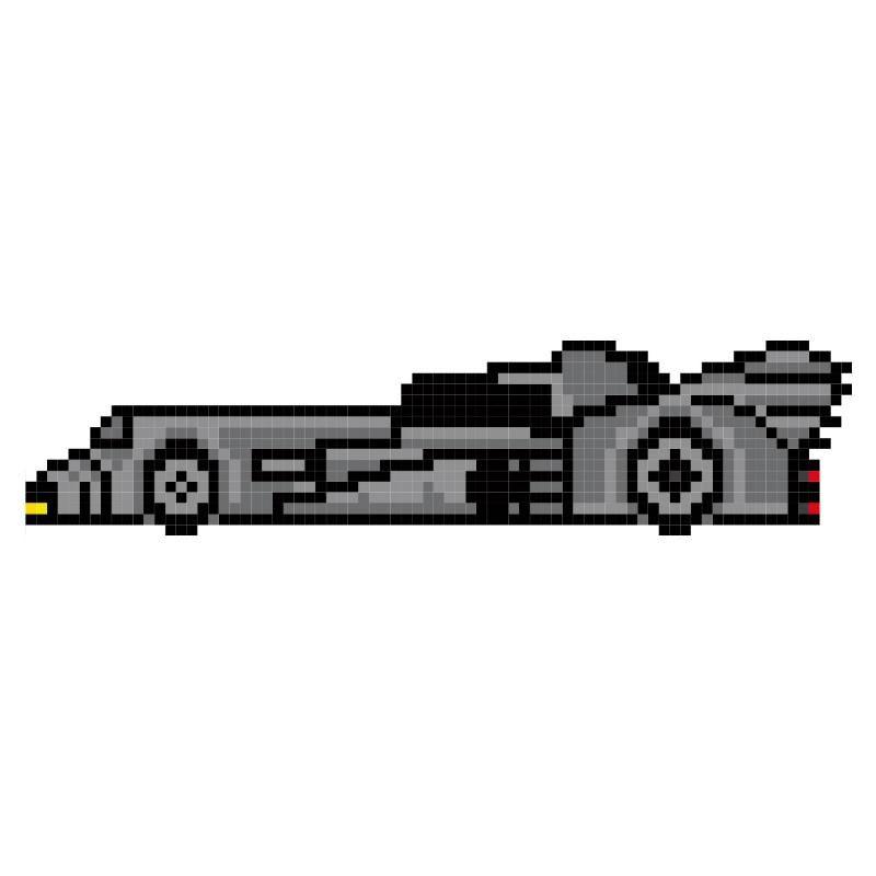 stickers cars pixel art le ph nom ne pixel art pour des voitures de l gende stickers voitures. Black Bedroom Furniture Sets. Home Design Ideas