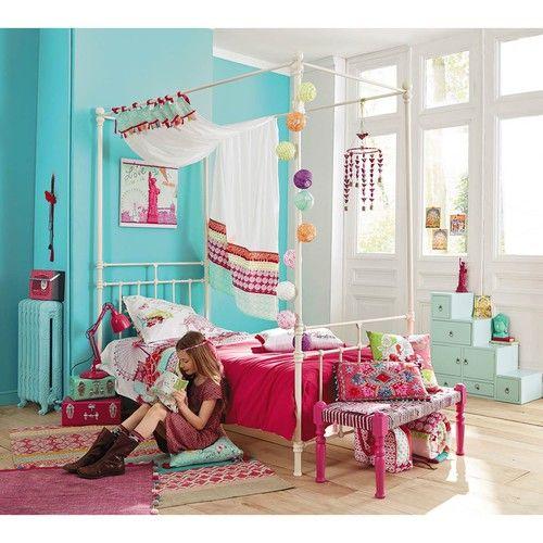 Tapis En Coton Multicolore 120 X 180 Cm En 2019 | Chambre Julie ...