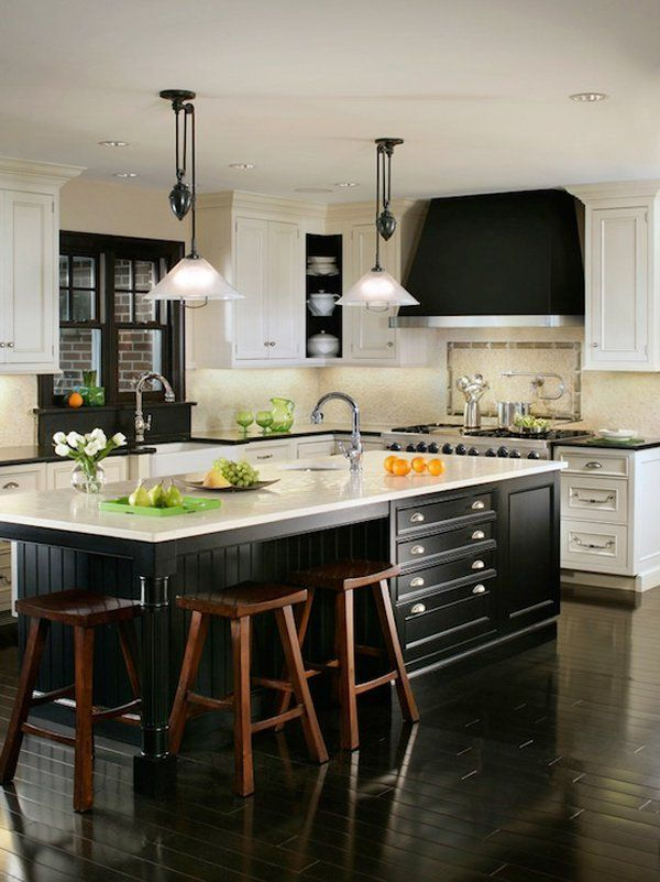 Best Black And White 45 Sensational Kitchens To Inspire 400 x 300