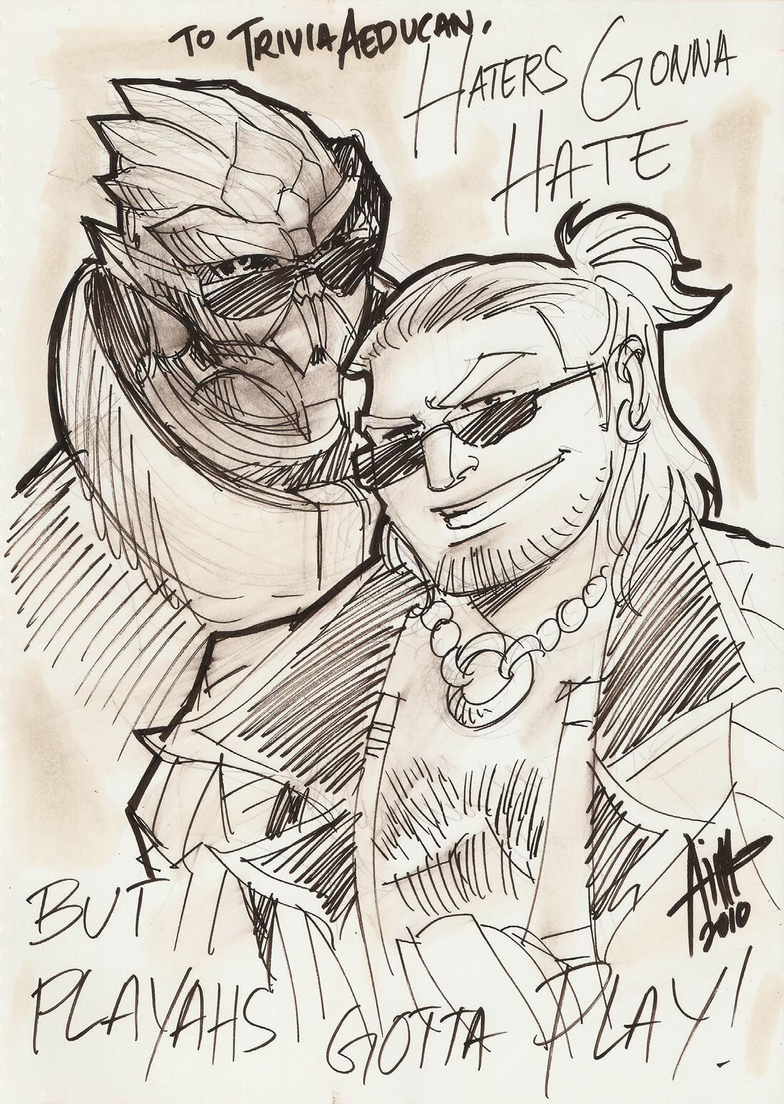 Oh HELL YES!!! Best team-up ever!!!☺️ Image from http://fc05.deviantart.net/fs70/f/2010/353/7/c/7c4101a071767c4d518e54cb1cdb8d09-d356kwk.jpg.