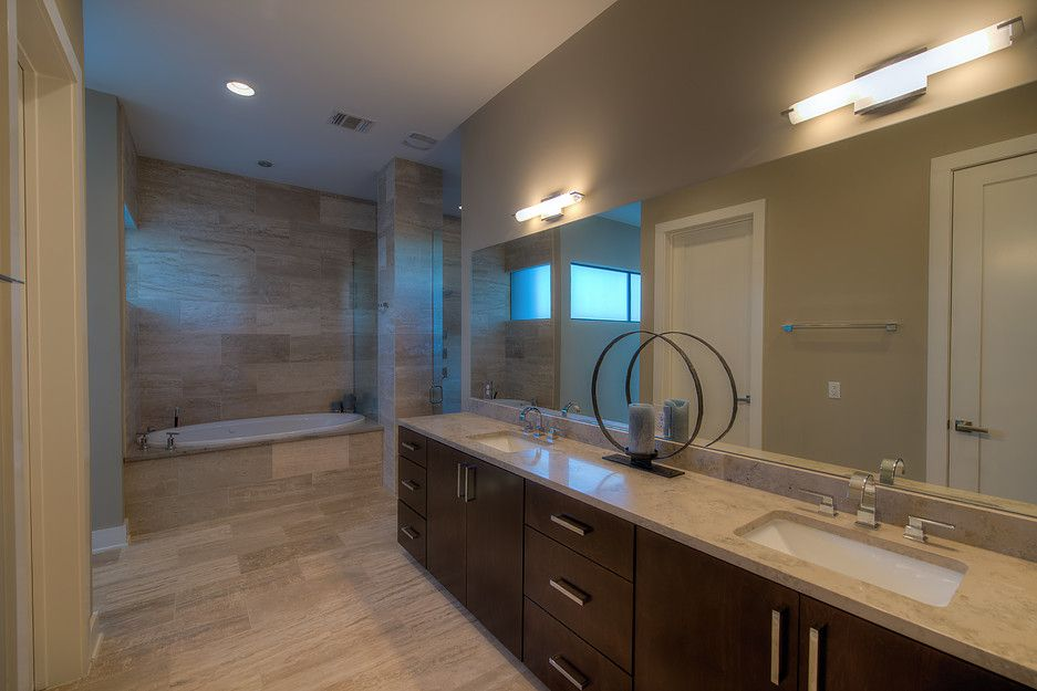JMS Architects (With images)   Lighted bathroom mirror ...