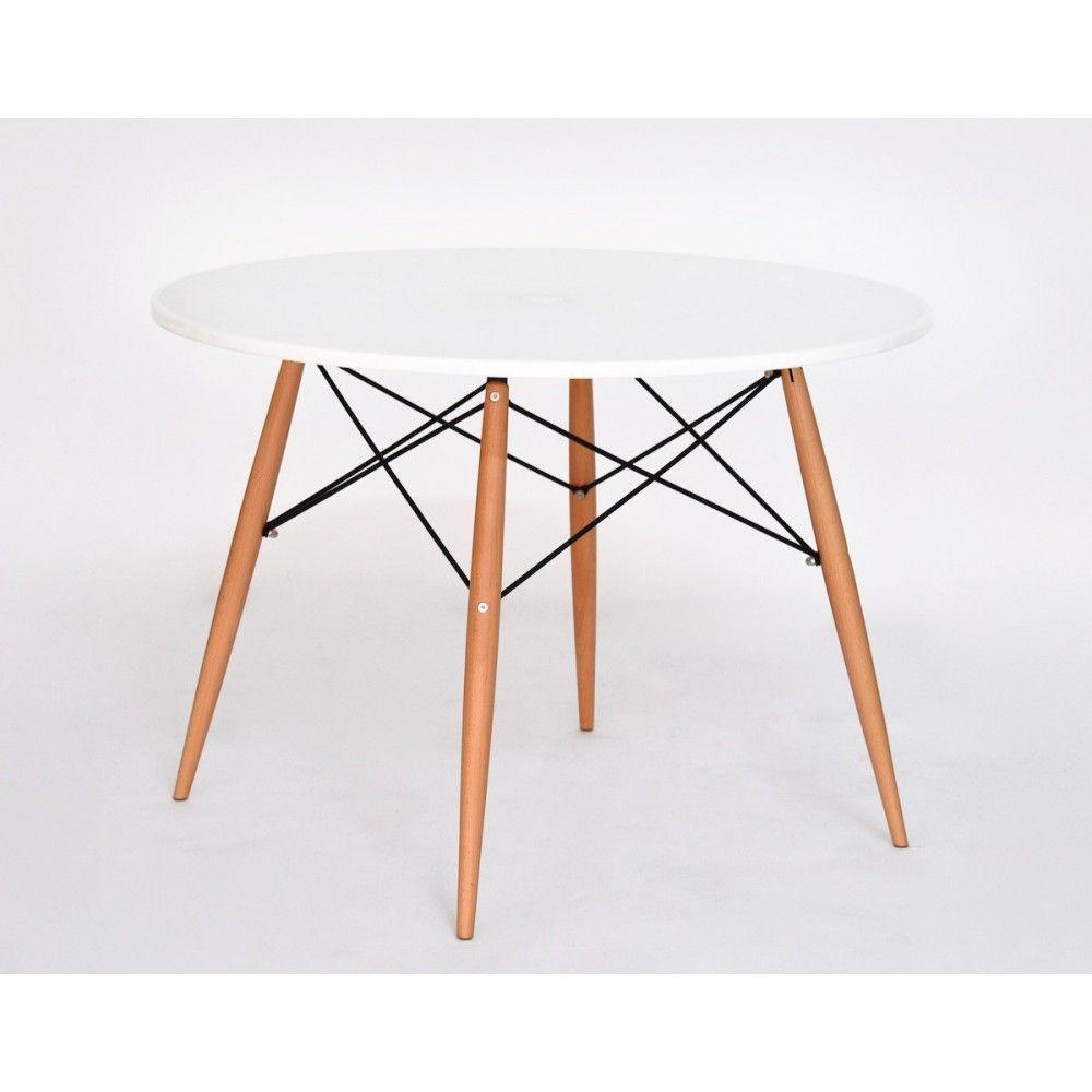 table à manger ronde Ø100cm design skoll   design table