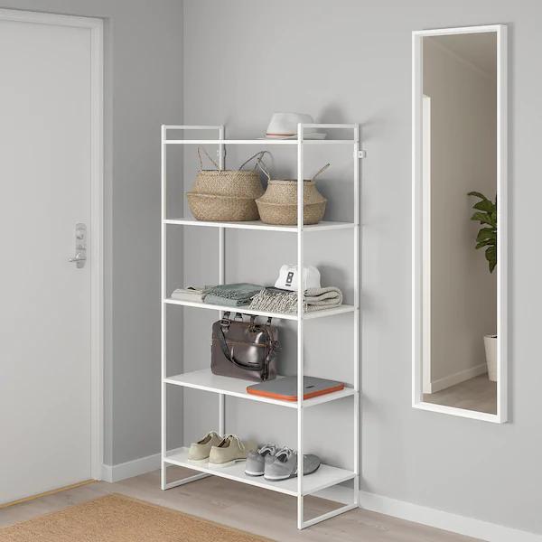 Jonaxel Shelf Unit White Ikea Ikea Jonaxel Shelf Unit