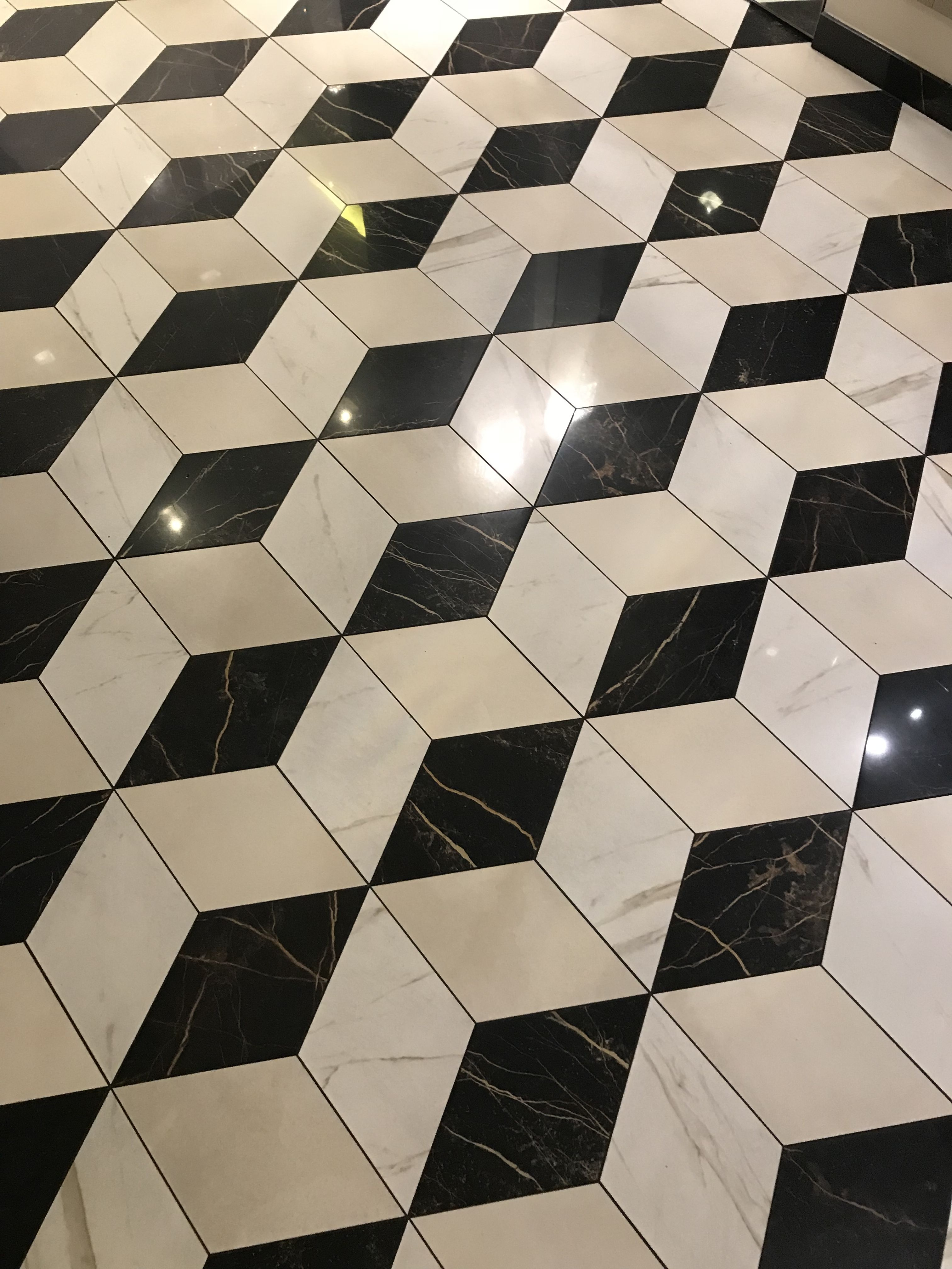 Vloertegels Zwart Wit.Patroon Vloertegels Zwart Wit Beige Vloertegels In 2019