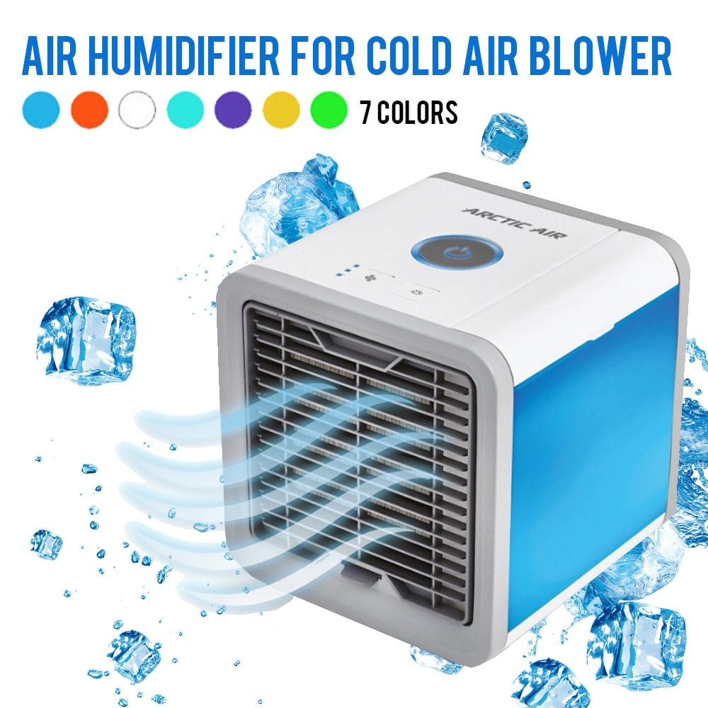 USB Mini Portable Air Conditioner Humidifier Purifier 7