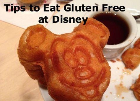 Best gluten free options at disneyland