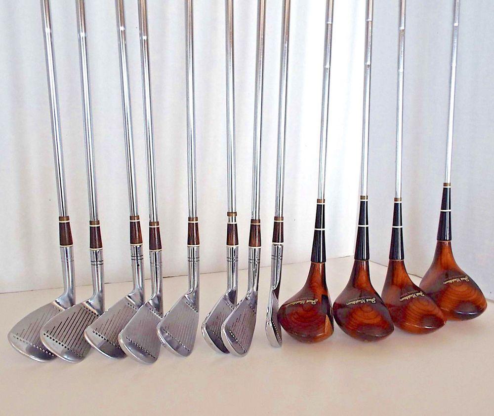 Vintage Macgregor Jack Nicklaus Golden Bear Golf Clubs 2 9 Irons 1 3 4 5 Woods Macgregor Golf Clubs Wood For Sale Jack Nicklaus