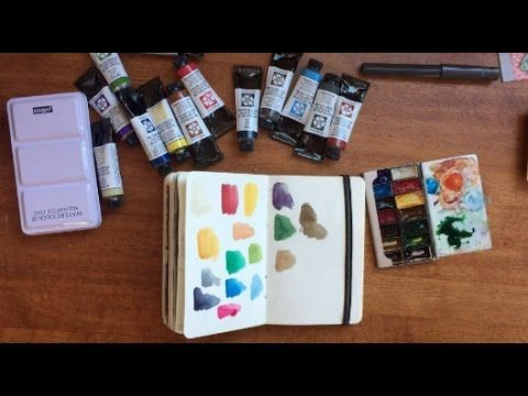 Mini Urban Sketch Palette Thoughts Daniel Smith Watercolor