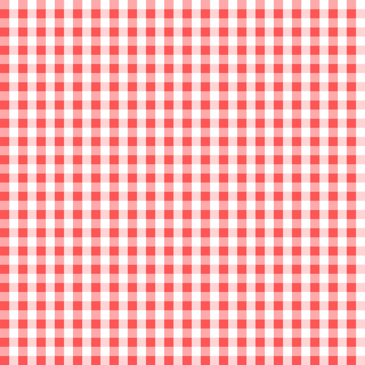 Free Digital Red White Gingham Scrapbooking Paper