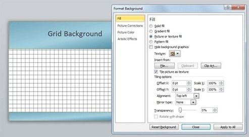 How to create a graph paper background in PowerPoint Pinterest - graph paper powerpoint
