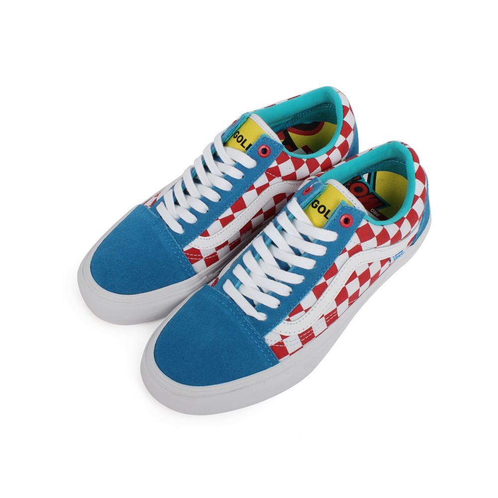 241a9acb63 Vans S Old Skool Pro Golf Wang Blue Red Wht