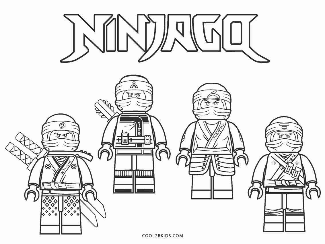 8 Coloring Page Lego Ninjago Ninjago Coloring Pages Superhero Coloring Pages Lego Coloring Pages