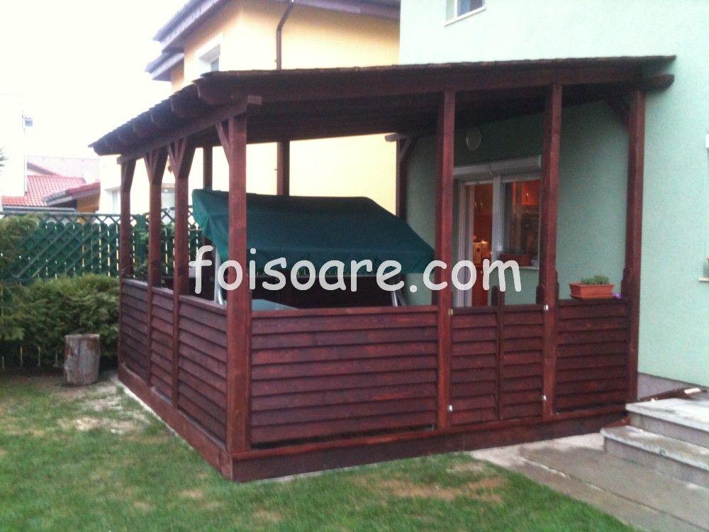 Modele Terase Lemn Tip Jaluzea 548 House Design House Home Decor