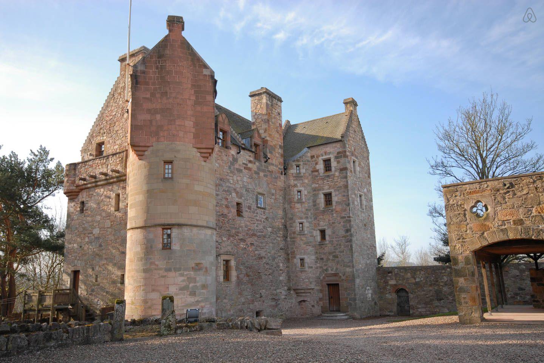 Dairsie Castle (historic Scotland) - AirBnB, Sleeps 13. | Scotland ...