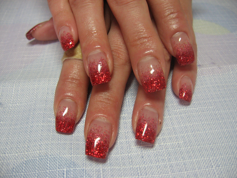 [Идеи 2018] — Стильный Красный Френч на ногтях (50 фото ...
