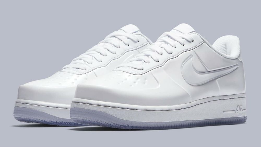 d9f317ffcfe75 Nike AF1 Foamposite Pro Cup Triple White Air Force One AJ3664-100 Men s  10.5