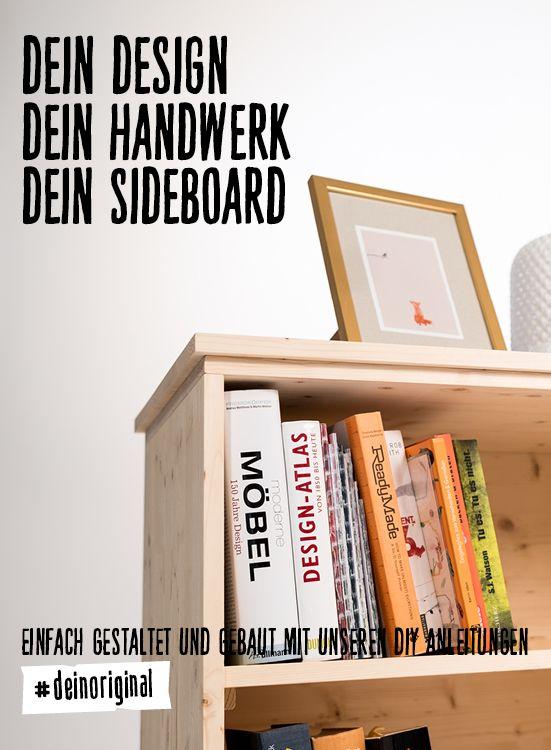 Sideboard Thea selber bauen - Aufbewahrung
