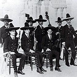 Mexican Orchestra in Old Seville