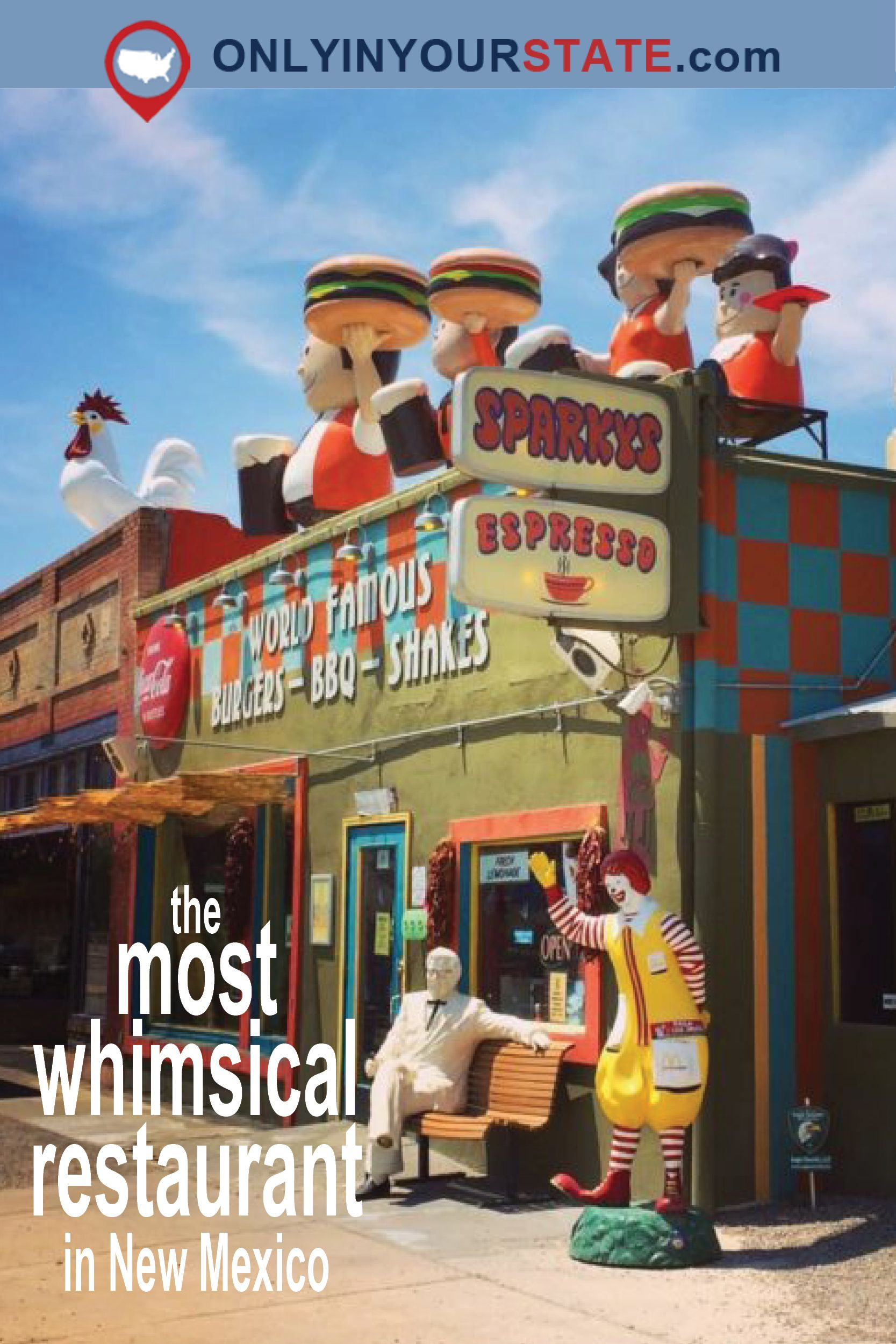Travel New Mexico Restaurants Quirky Whimsical Places To Eat Bizarre Attractions Roadside Things Do
