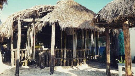 Bar tipico a Playa del Carmen