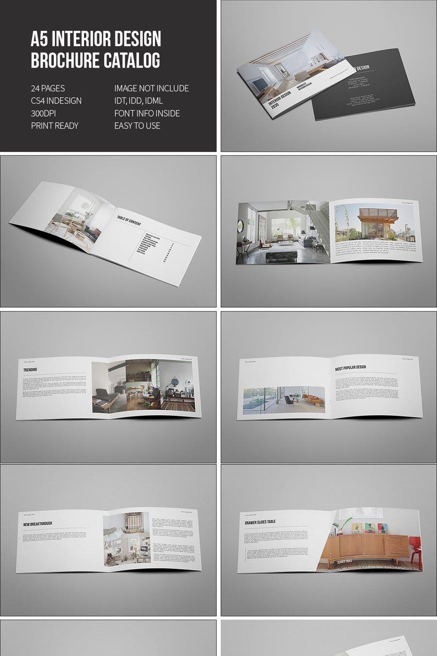 Interior Design Brochure Catalog Brochure Design Catalog Design Quality Interior Design