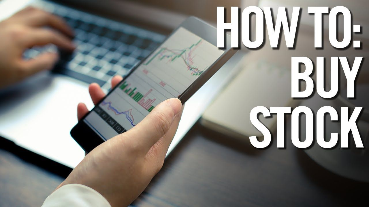 How to buy stocks stock market trading investing for