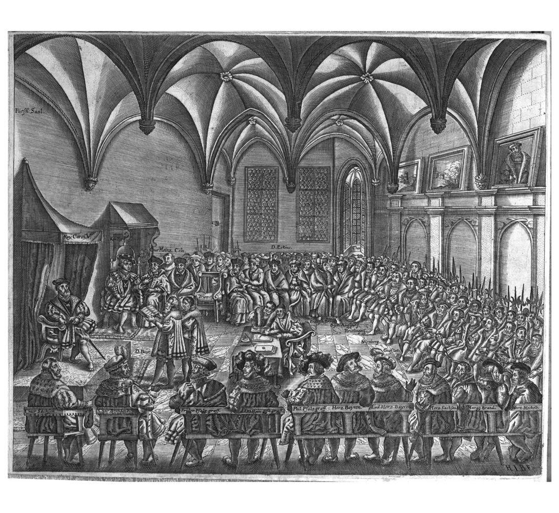 Augsburger konfession verlesung
