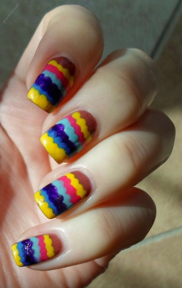 Adorable Ruffle Nail Designs 17 Cute and Funny Nail Art Ideas | Nail ...