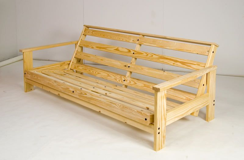 Admirable Adirondack Couch Sofa Frame Wooden Couch Diy Sofa Creativecarmelina Interior Chair Design Creativecarmelinacom
