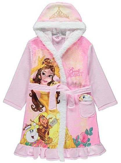 Disney Princess Belle Dressing Gown with Soft Toy, read reviews and ...