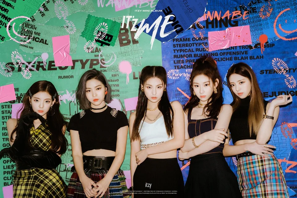 Itzy It Z Me Title Track Teaser Kpop Itzy Girl Group Teaser