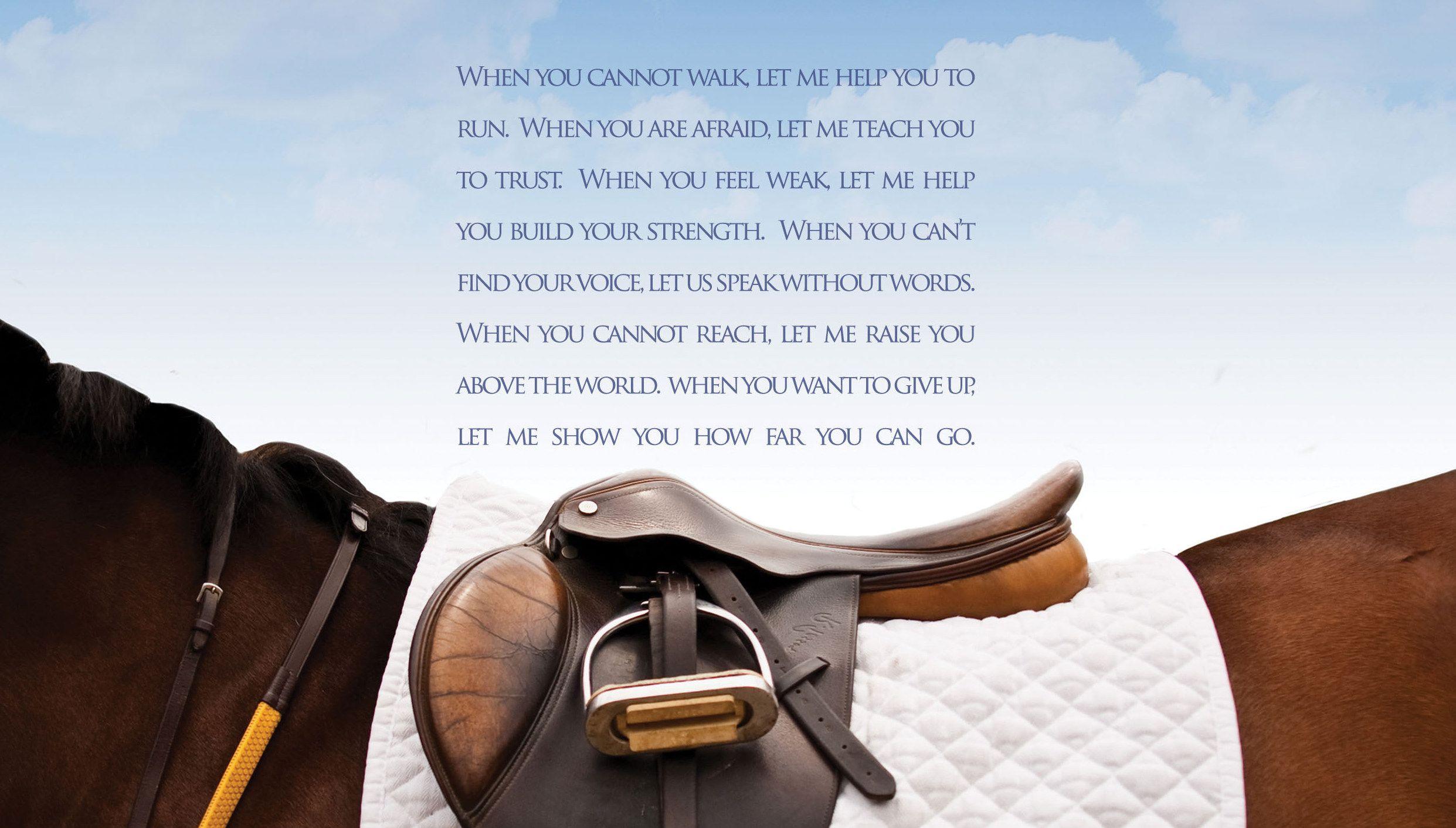 inspirational horseback riding quotes - Google Search ...