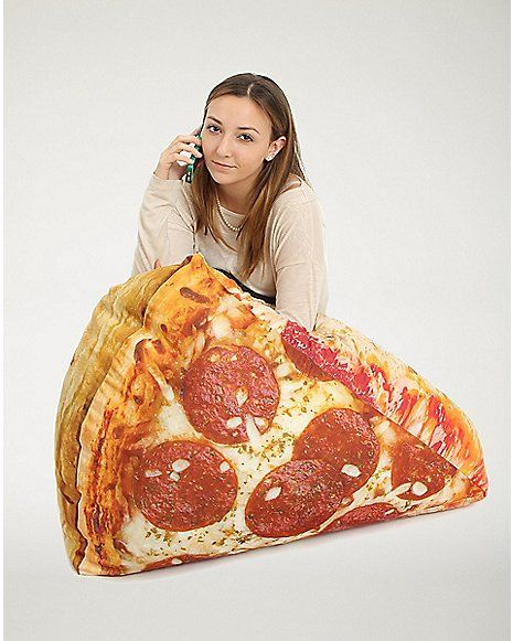 Pizza Bean Bag Chair Spencer S Gimme P I Z
