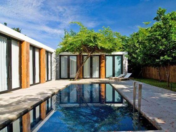 Private pool at Hotel De La Paix, near Hua Hin