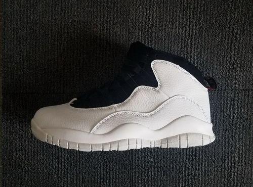 size 40 6a200 fbc36 Official Air Jordan 10 I m Back Summit White Black 310805-104 -  Mysecretshoes
