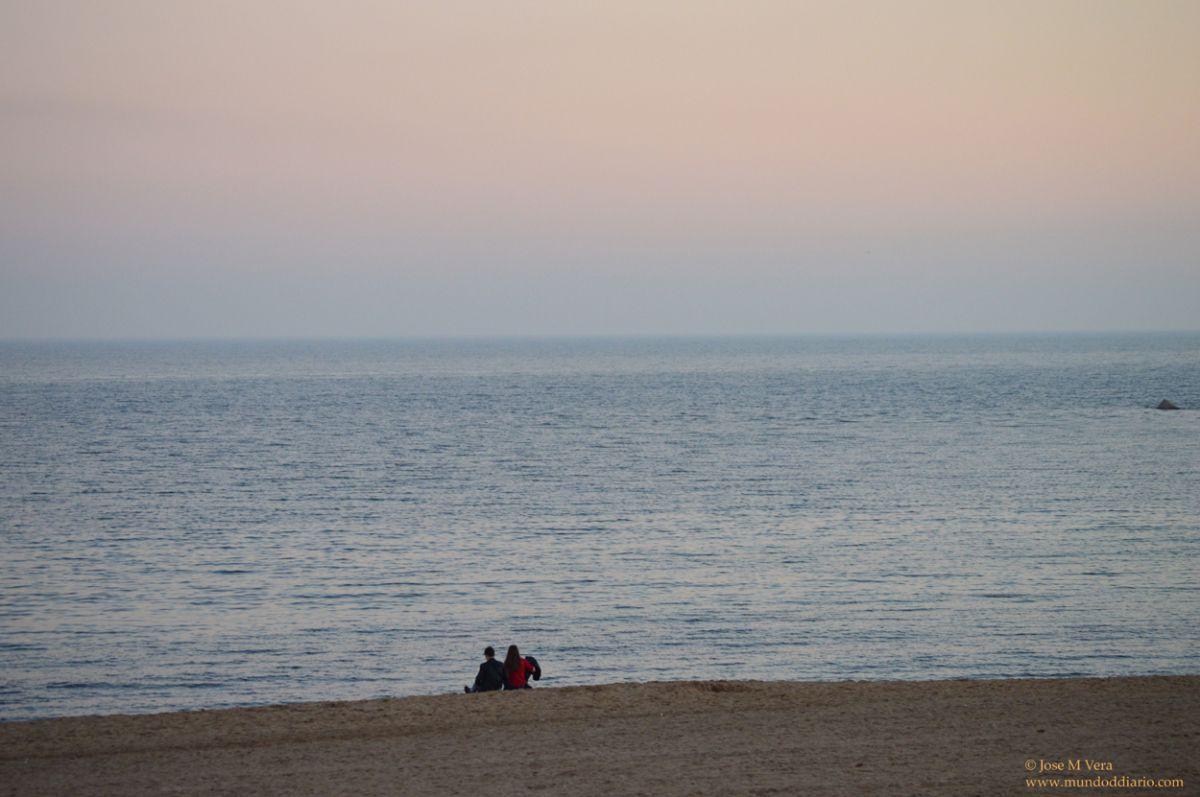 Tarde de playa en Noviembre