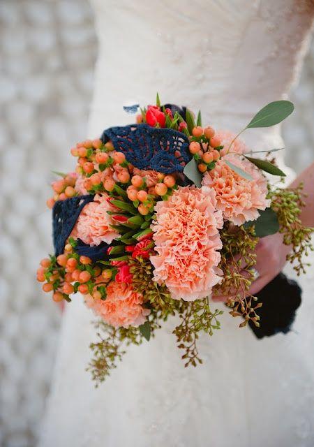 Flores de boda v.10: los claveles Decoración, Flores - Confesiones de una Boda