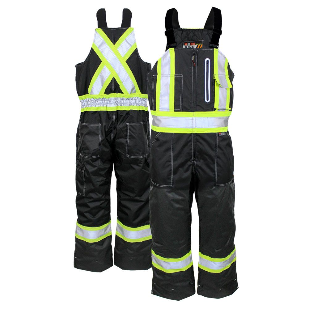 work king s876 class e contrast quilt lined insulated on insulated work overalls id=84697