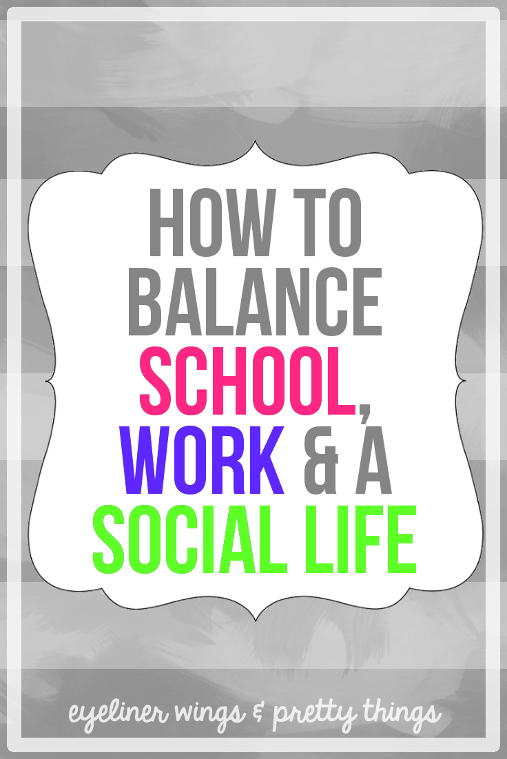 Balancing Work and College