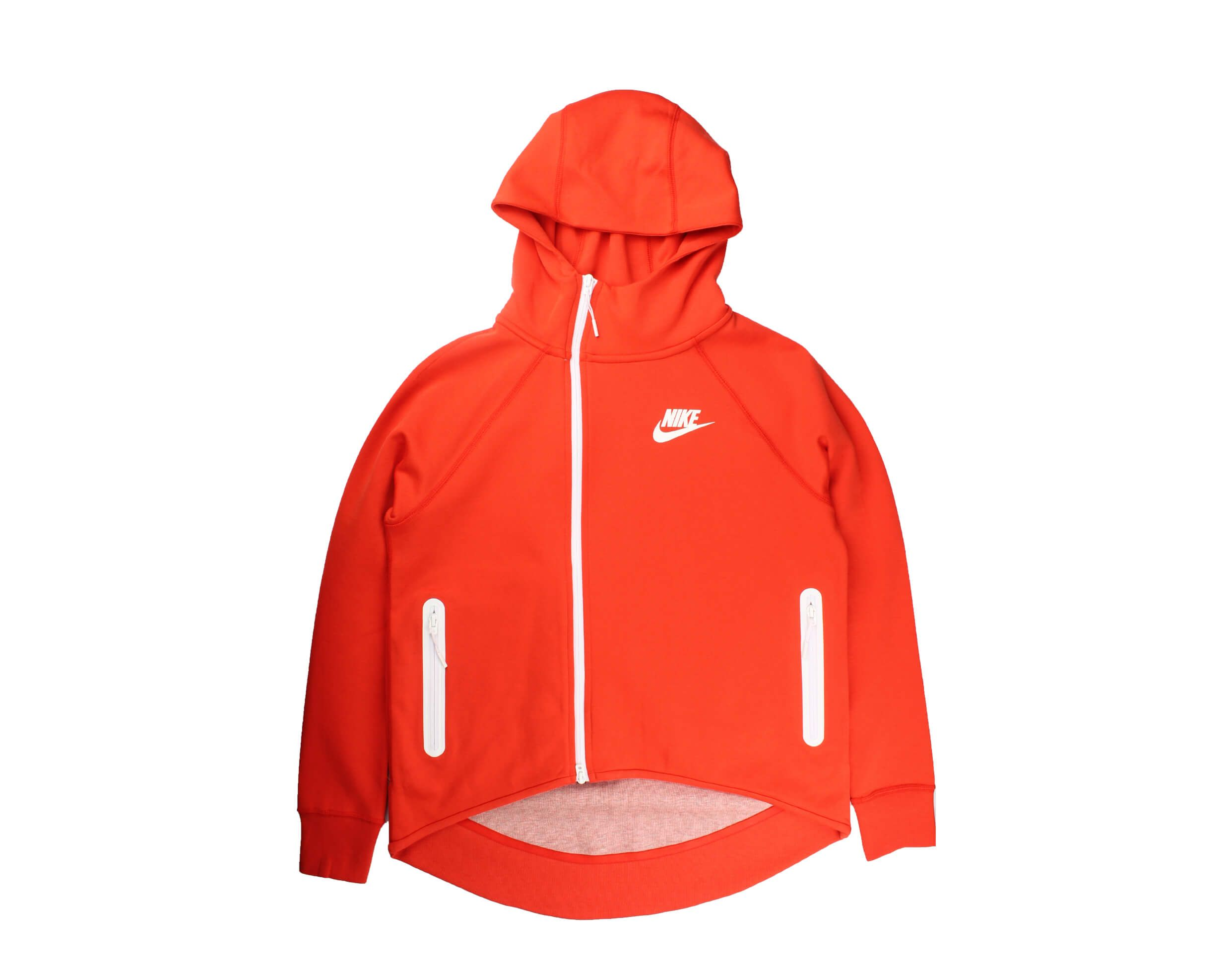 Nike Sportswear Tech Fleece FullZip Habanero Red Women's