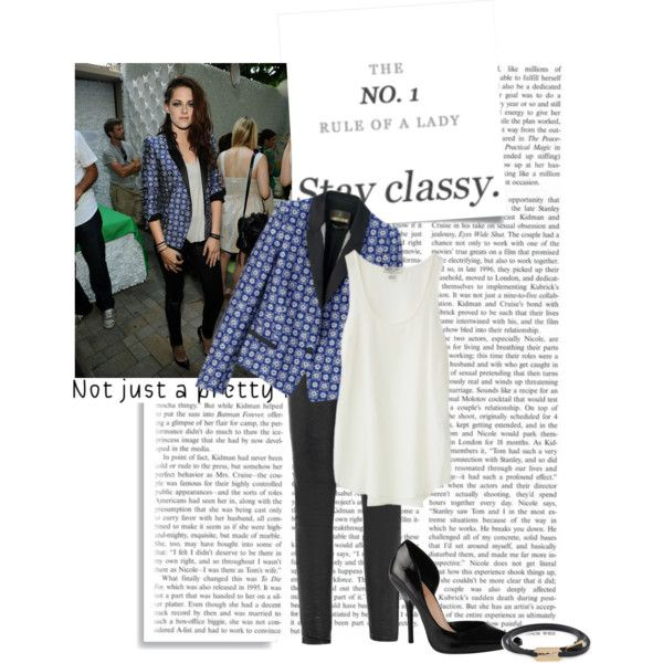"""""""The NO.1 Rule: Stay Classy"""" by prettyorchid22 on Polyvore"""