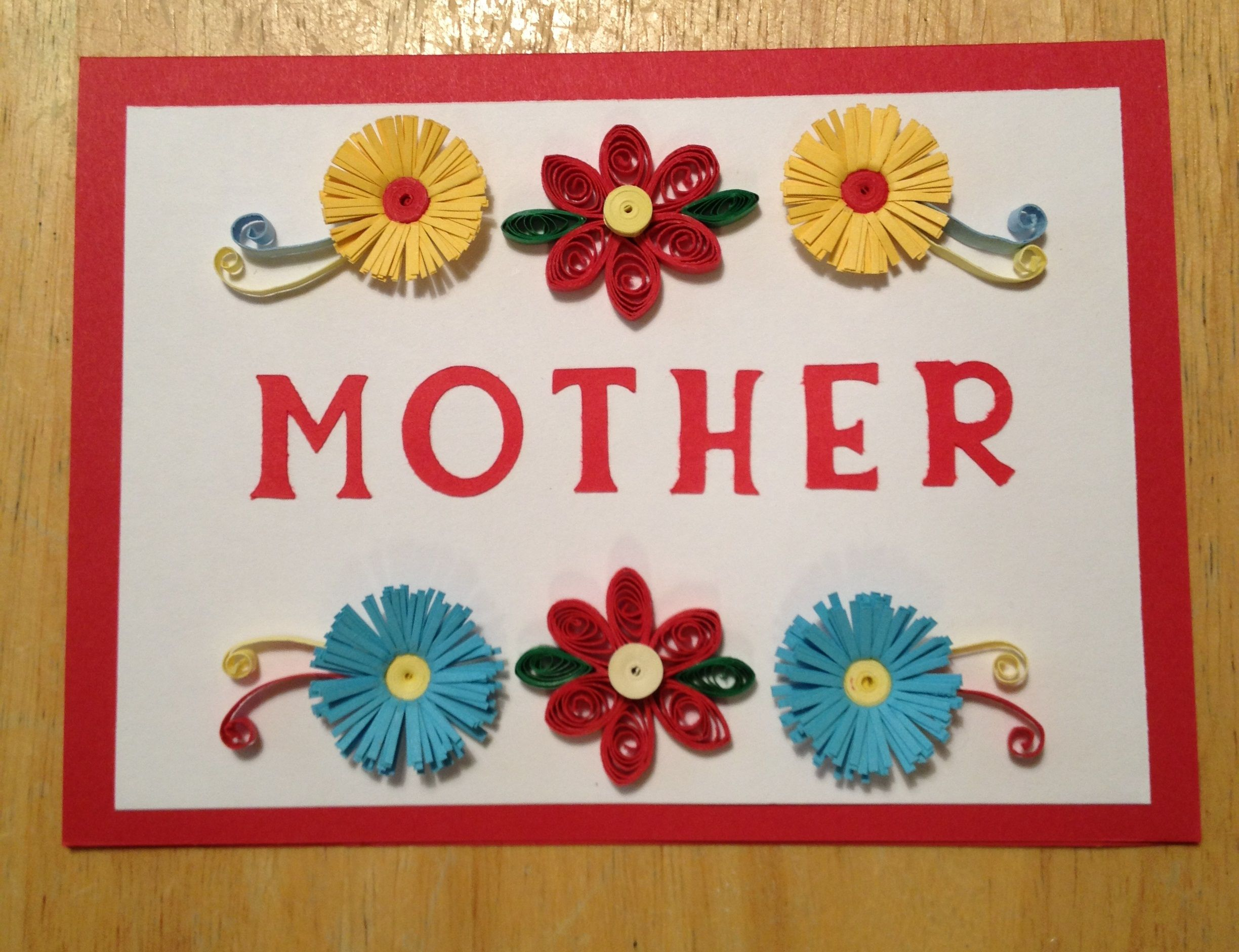Mothers Day Card Mothers Day Pinterest Flower Bouquet