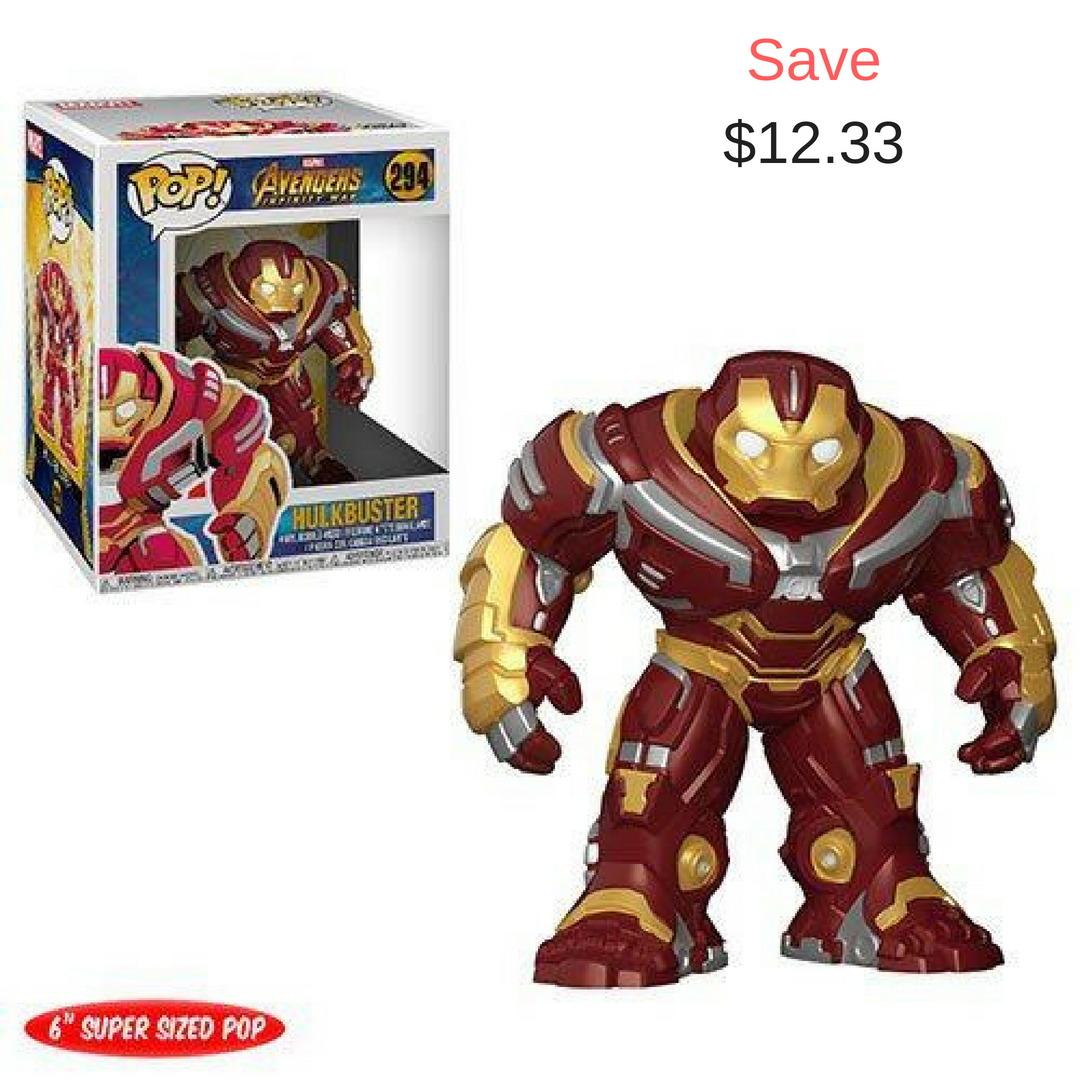 From Avengers Infinity War Buy Hulkbuster 6 Inch Pop Packaged In Window Display Box Now Only At 32 67 Funko Pop Avengers Hulkbuster Funko Funko Pop Marvel
