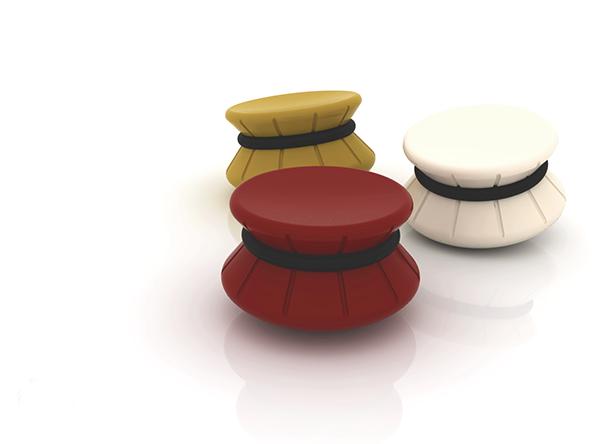 Brilliant Sik Gugok Wobble Stool On Behance Stand Up Stool Stool Inzonedesignstudio Interior Chair Design Inzonedesignstudiocom