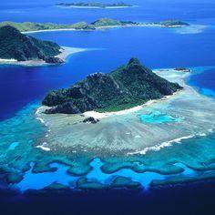 Fiji: the Mamanuca Islands, off the west coast of Viti Levu